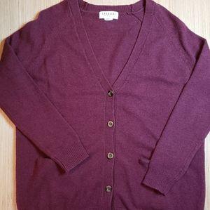 Cavalini wool blend burgundy sweater 😍